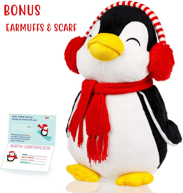 Penguin Stuffed Animals - Cute, Soft and Cuddly Penguins Plush Animals Toy