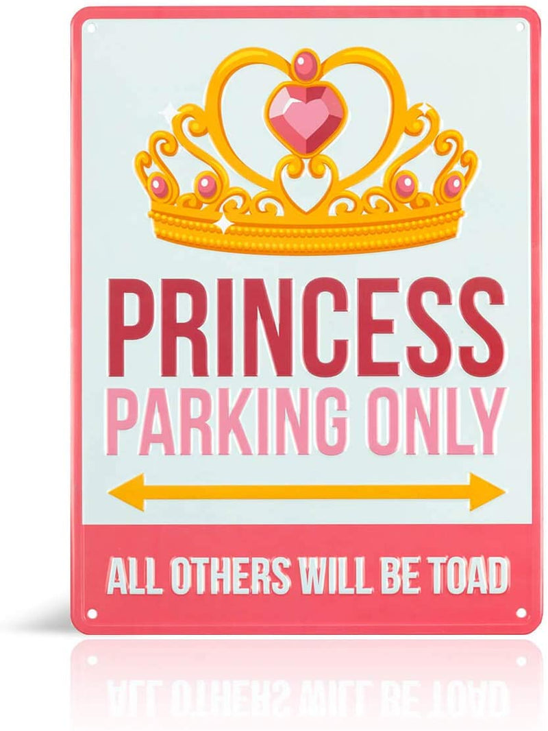 Princess Parking only Sign