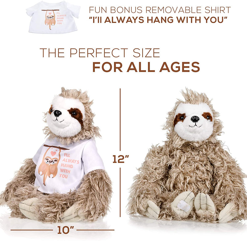 Sloth Stuffed Animal - The Original I'll Always Hang with you Large Sloths Plush Animals Toy