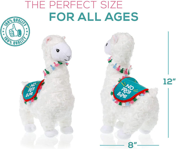 Llama Stuffed Animal - The Original No Prob Llama lama alpaca plush animals toy.