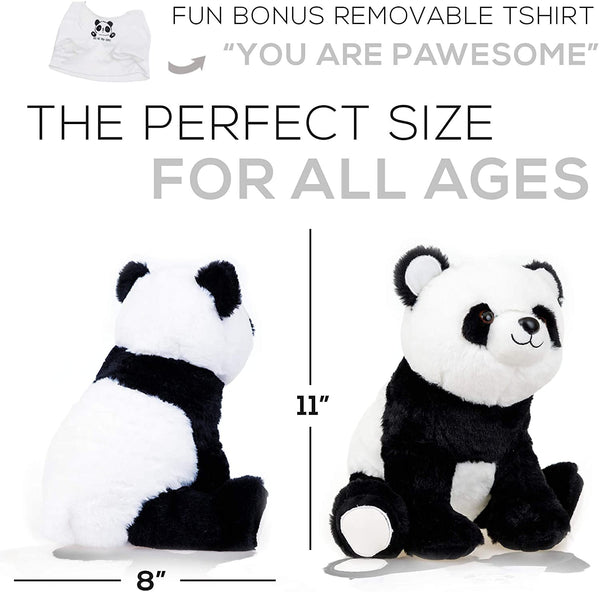 "Panda Stuffed Animal - The Original ""You Are Pawesome"" Large Panda Plush Animals Toy"