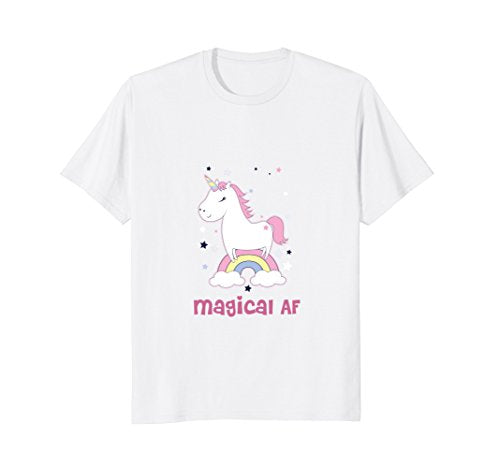 Funny Magical AF Unicorn t-shirt: Great Gift!