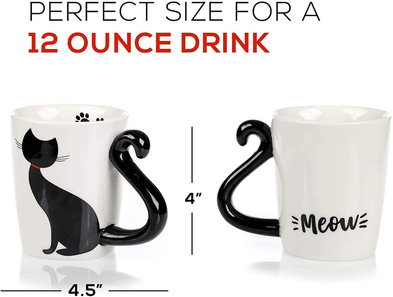 Cat Mug & Coaster Gift Set