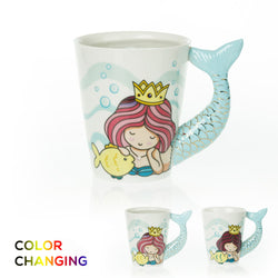 Color Changing Mermaid Mug