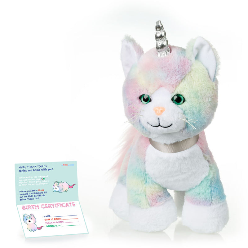 Rainbow Caticorn Kitten Unicorn
