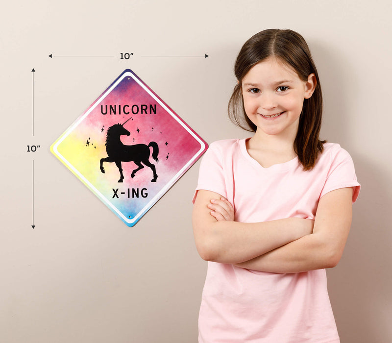 Unicorn X-ing Sign