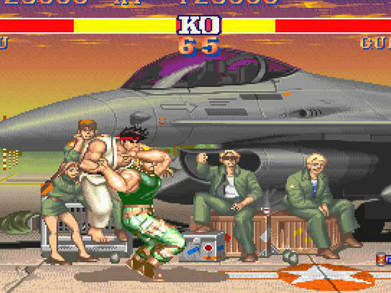 Street Fighter II Guile Glitches