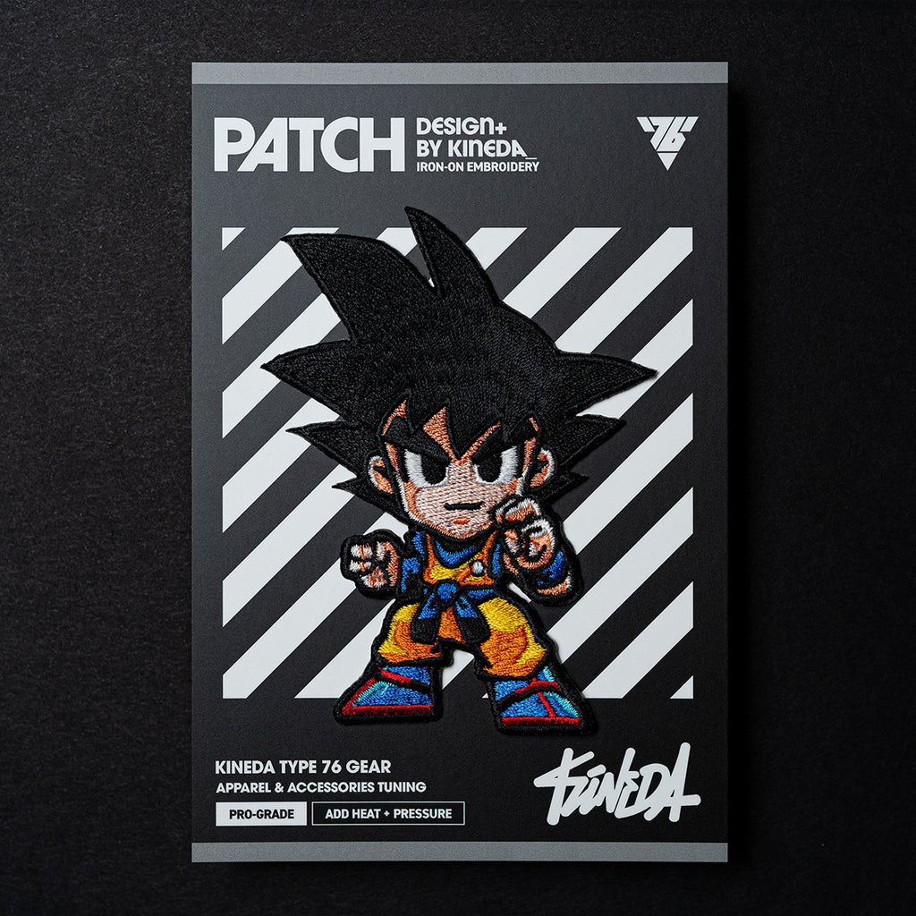 Dragon Ball Z Goku - Patch (Embroidered Iron-On)