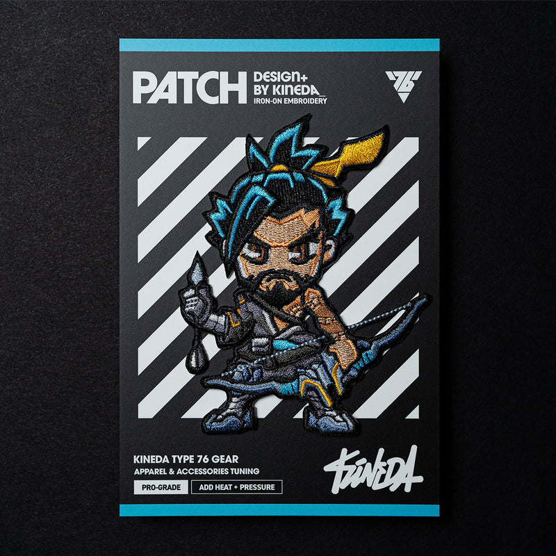 Hanzo Patch Iron-On Embroidery from Overwatch