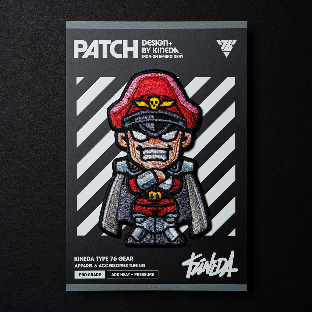 Street Fighter M.Bison - Patch (Embroidered Iron-On)