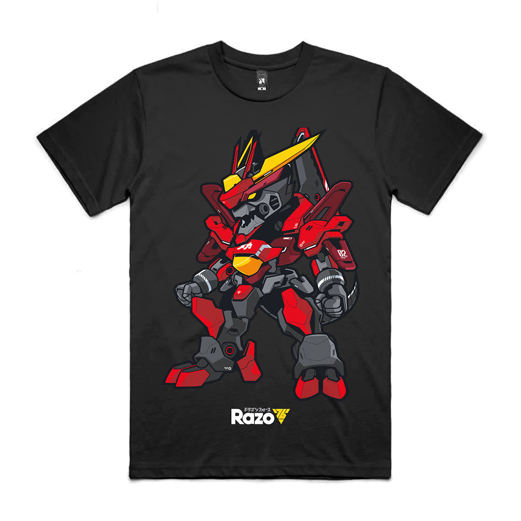 Meka Dragon - Black Tee