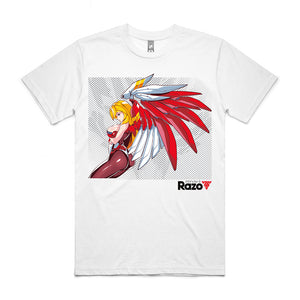 Remi Hayabusa Wings - White Tee