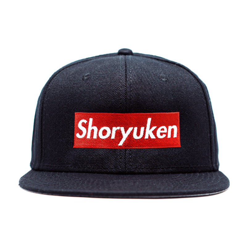 Shoryuken Snapback Cap - Black - Razoforce 44e62d8f070