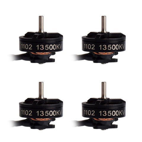 1102 13500kv 2S brushless motors
