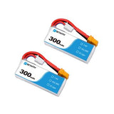 300mAh 2S 45C Lipo Battery (2pieces)