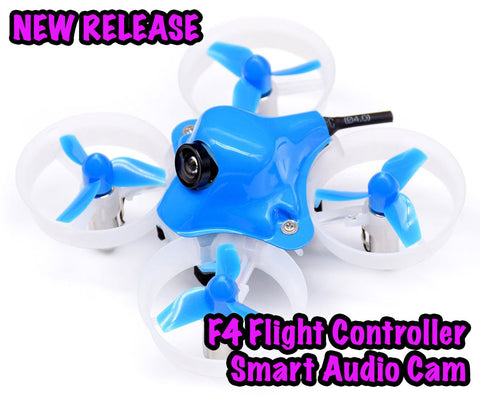 Beta65S BNF Micro Whoop Quadcopter - F4, SPI RX and Smart Audio - FrSky