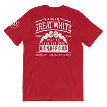 "Load image into Gallery viewer, Trenton""Great White""  White SS Team Tee"