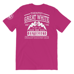 "Trenton""Great White""  White SS Team Tee"