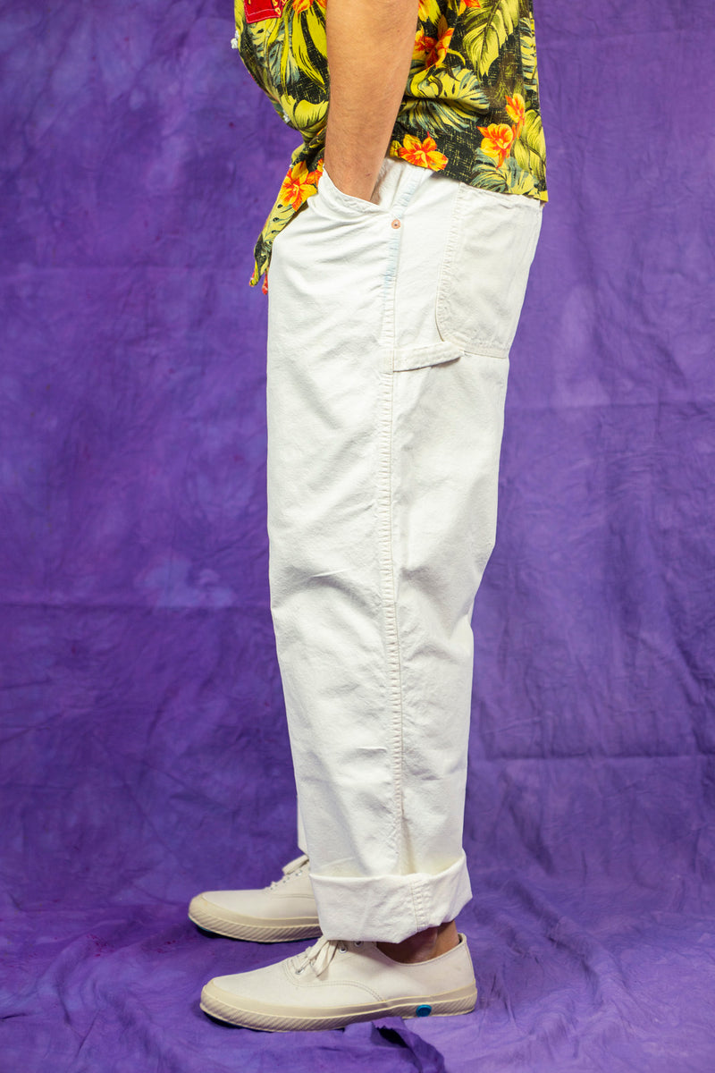 P42 Painter Pants in White