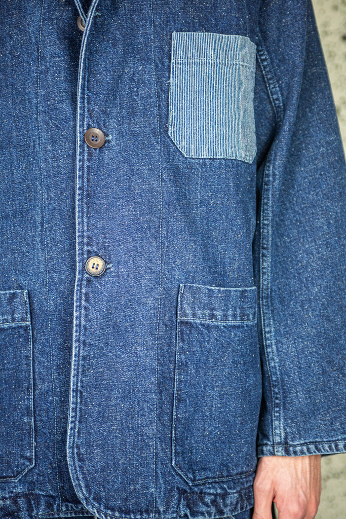 Worker Jacket in 6 Months Denim