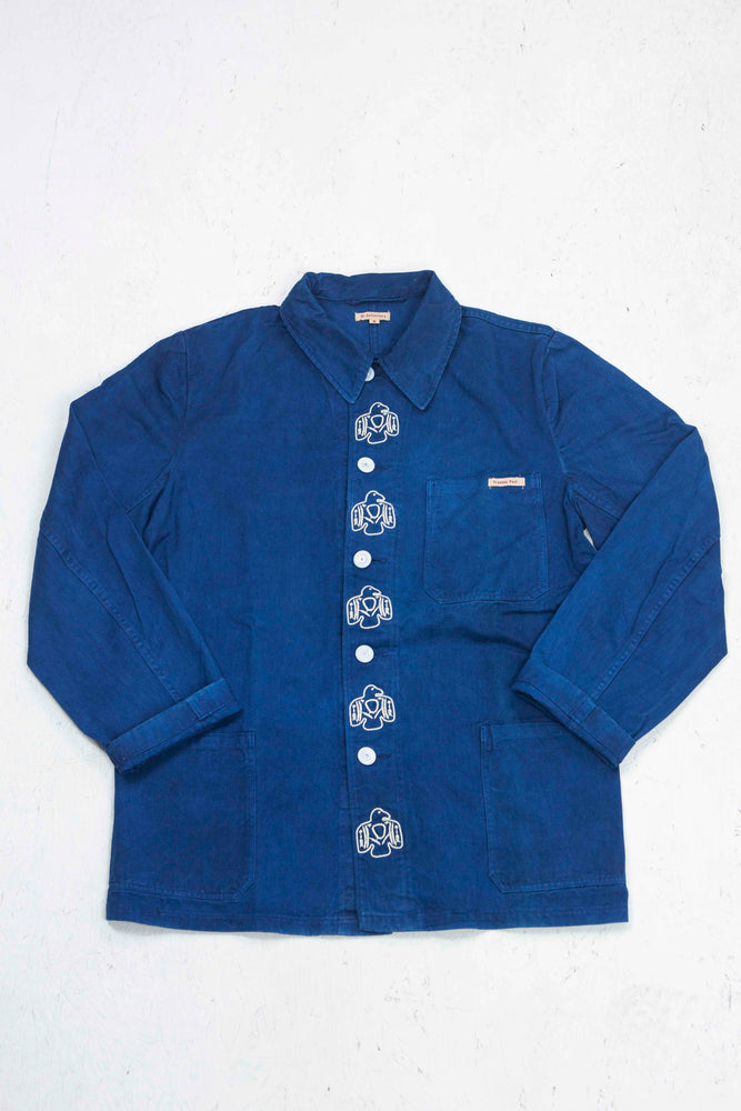 Thunderbirds Workers Jacket in Lt. Indigo