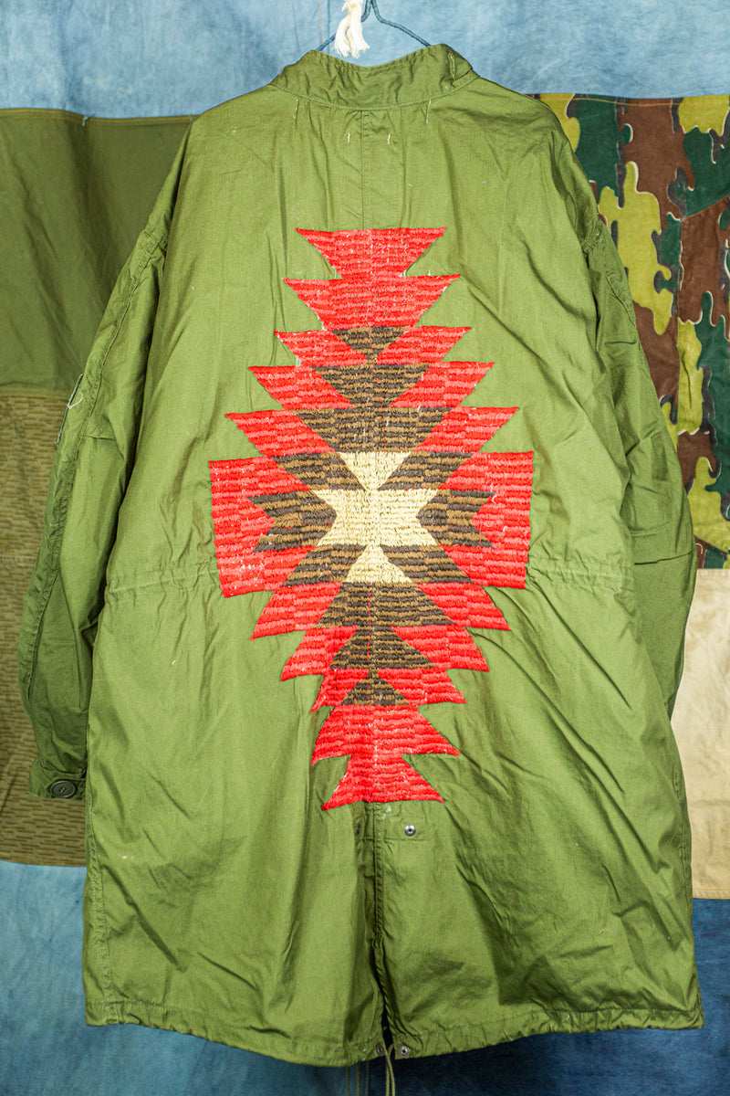 "USM65 Vietnam Era U.S. Air Force Fishtail Parka with ""Red Cloud"" Embroidery"