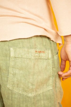 P23 GI Linen Pant in Almond