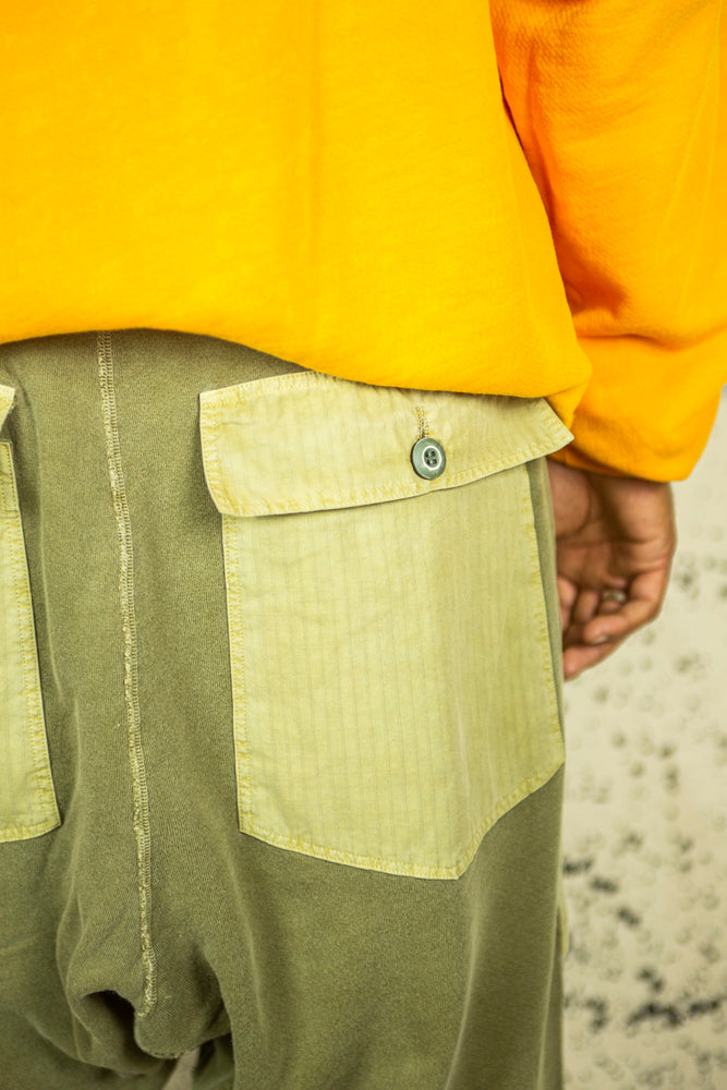 P27 Farmer Pant in Dried Peony