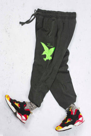Running Pant in Vintage Black