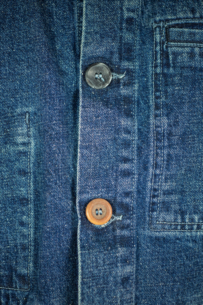 Paysan Jacket in Japanese Denim