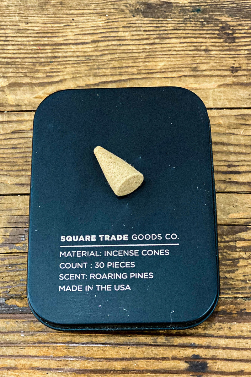 Square Trade Goods Co. Incense Cones - Roaring Pines