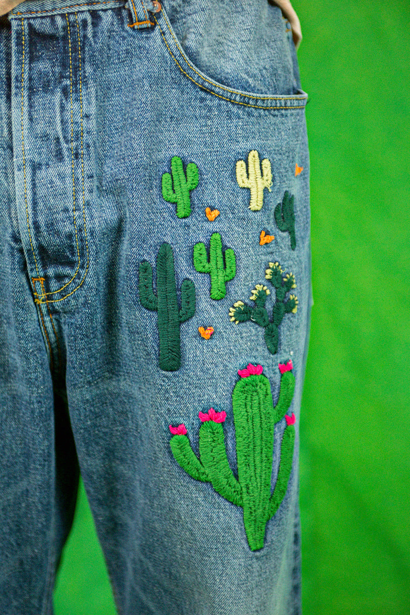 P41 Dogtown Denim in Cactus