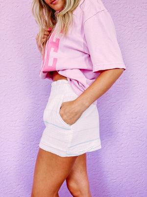Adella Stripe Dress - black/white