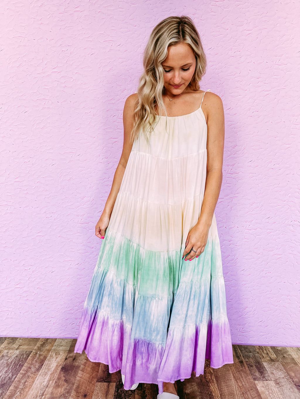 Late Night Stripe Joggers - camel
