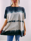 Honey Tie Dye Tee - ash