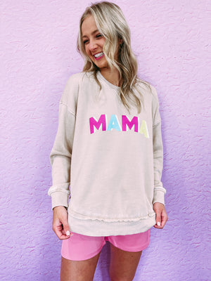 Lollie Power Shoulder Dress - ivory