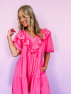 Hang Around Tie Dye Top - blue