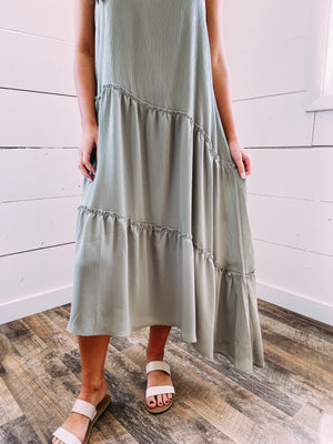 Jamison Ruffle Tank Dress