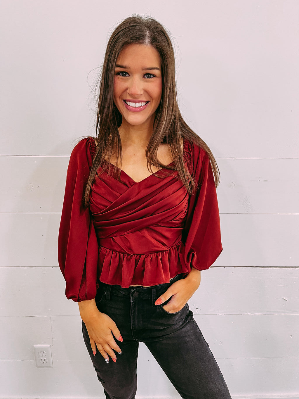 Gigi Plaid Shacket - tan