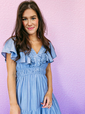 Star Gold Hoop Earring