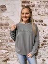 Mamahood Sweatshirt - grey