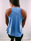 Fast Forward Tank- Denim