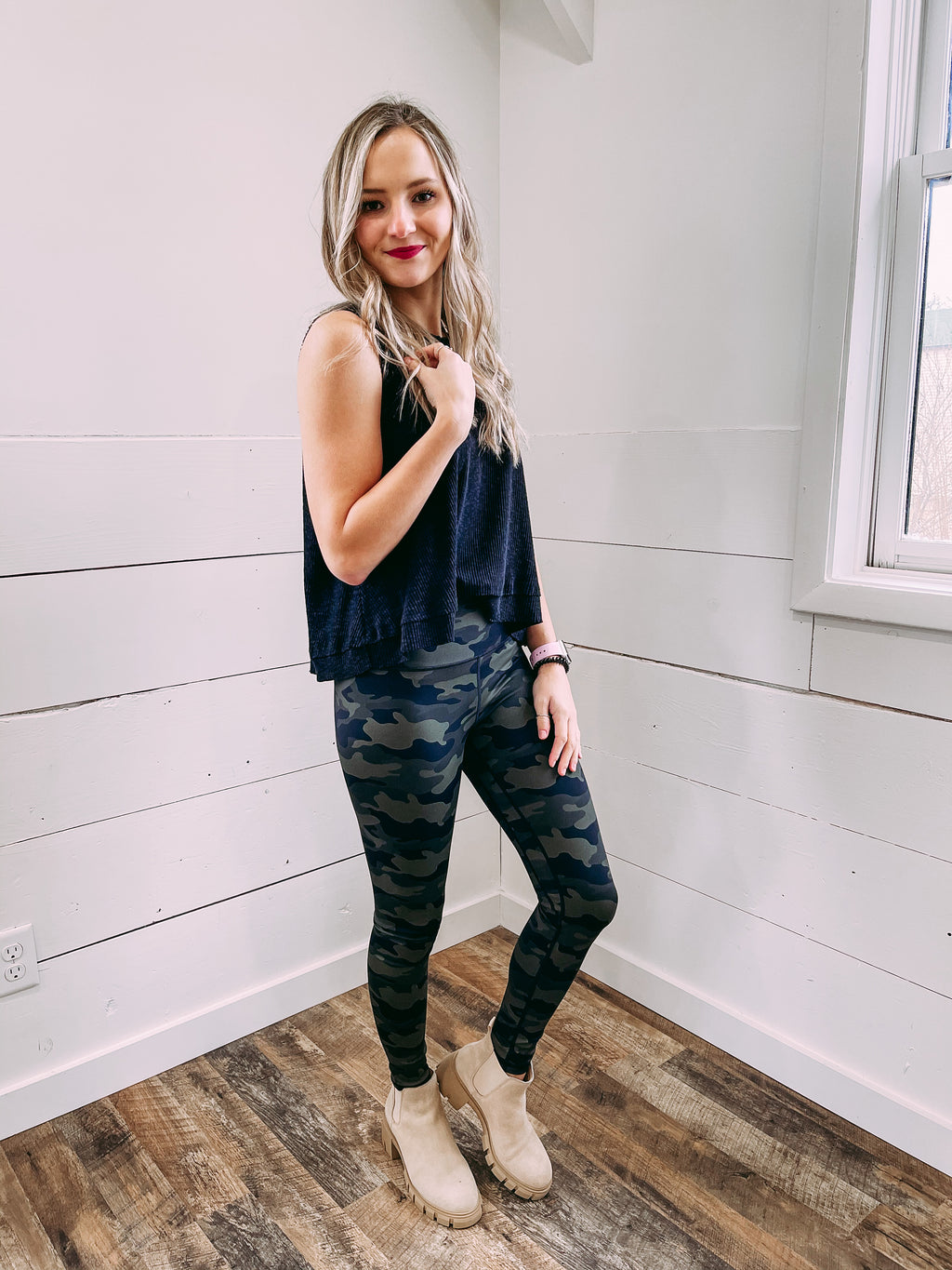Andia Leggings - woodland camo