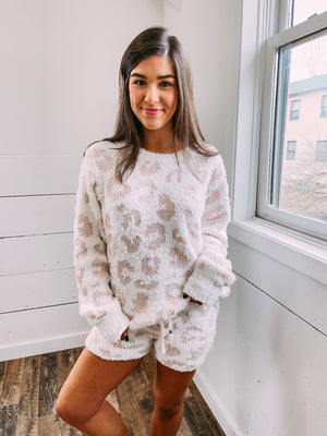Dream Big Comfy Sweater - pink