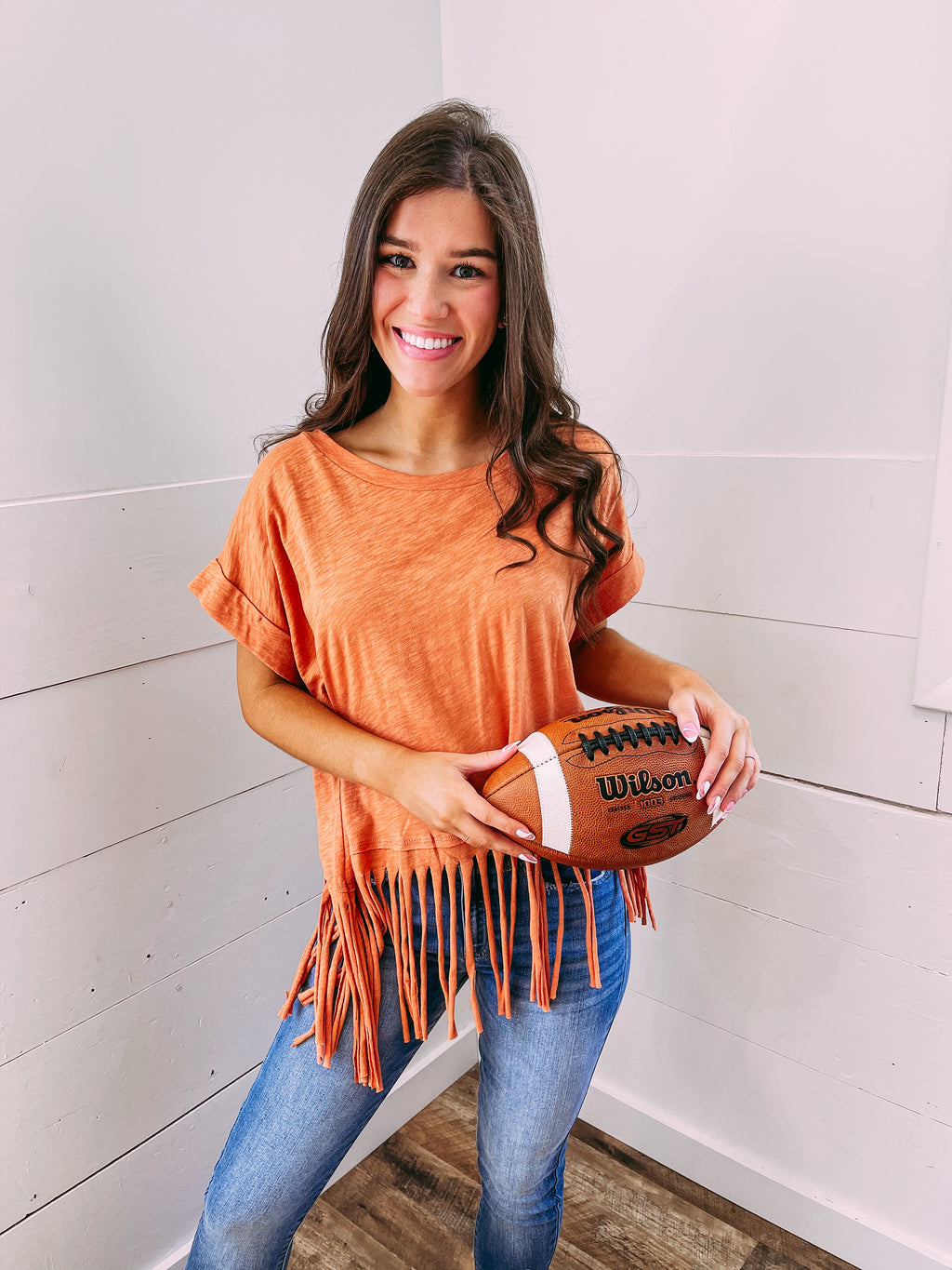 Gretchen Oversized Blouse - caramel