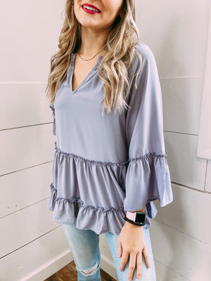 Been a Rockin Blouse - lavender