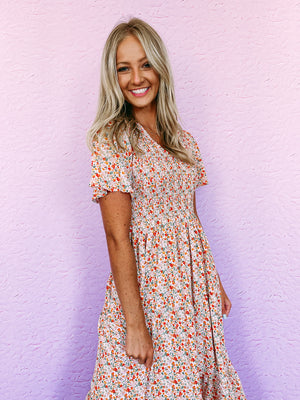 Wakely Smocked Tank - blue