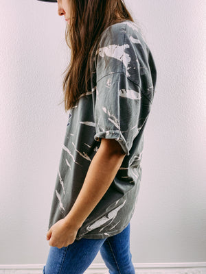 Free as a Bird Tie Dye Graphic
