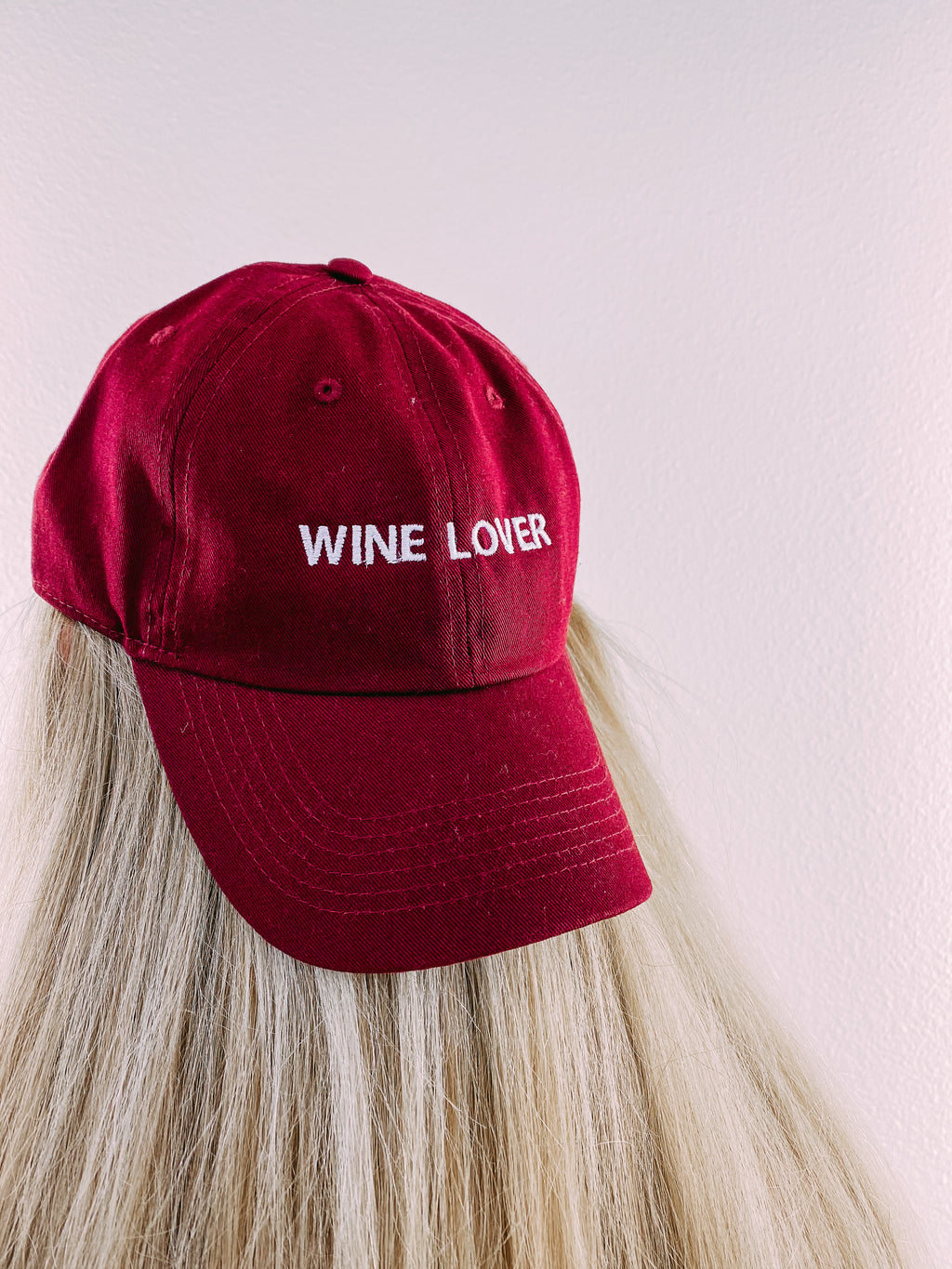 Wine Lover Hat - wine