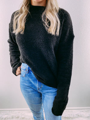 The Mitzie Sweater - black